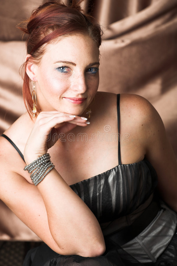 Female Fashion Model royalty free stock photography