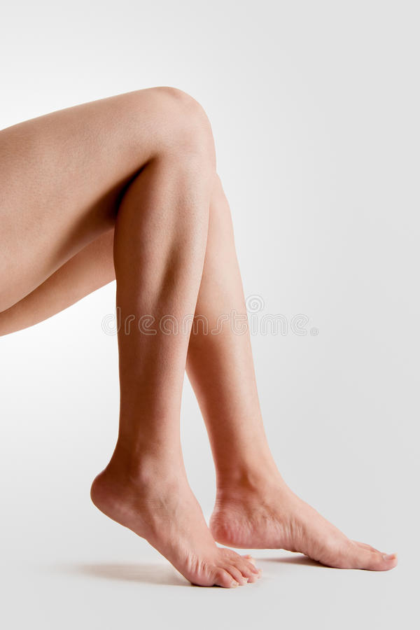 Female feet royalty free stock photography