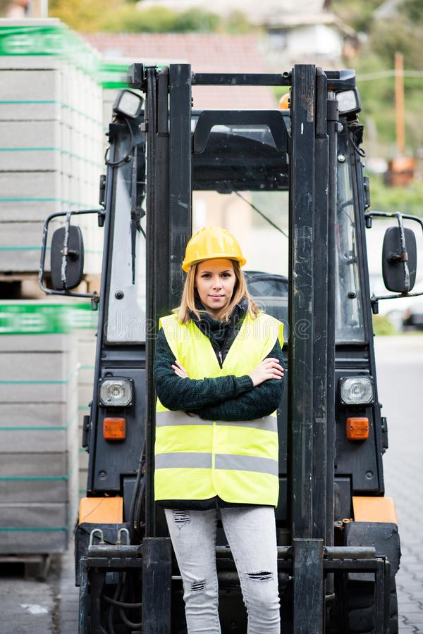 Woman Truck Driver Stock Images - Download 658 Royalty Free