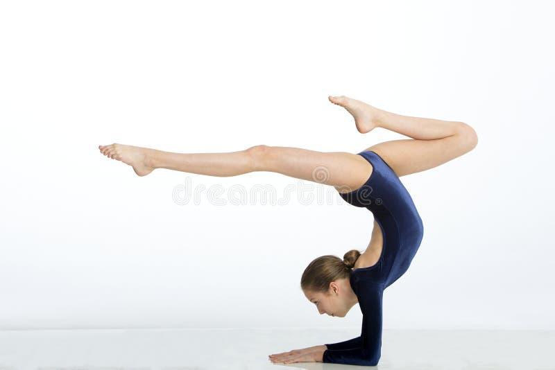 Gymnastics handstand poses