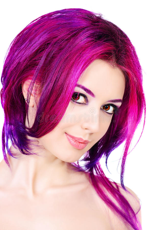 Female hair royalty free stock photos