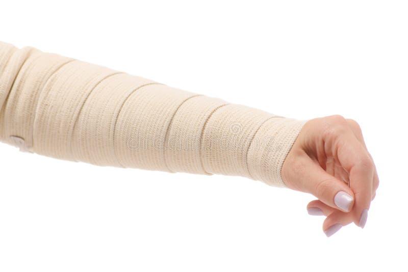 Female Hand Elastic Bandage Injury Stock Photo Image Of Exercise