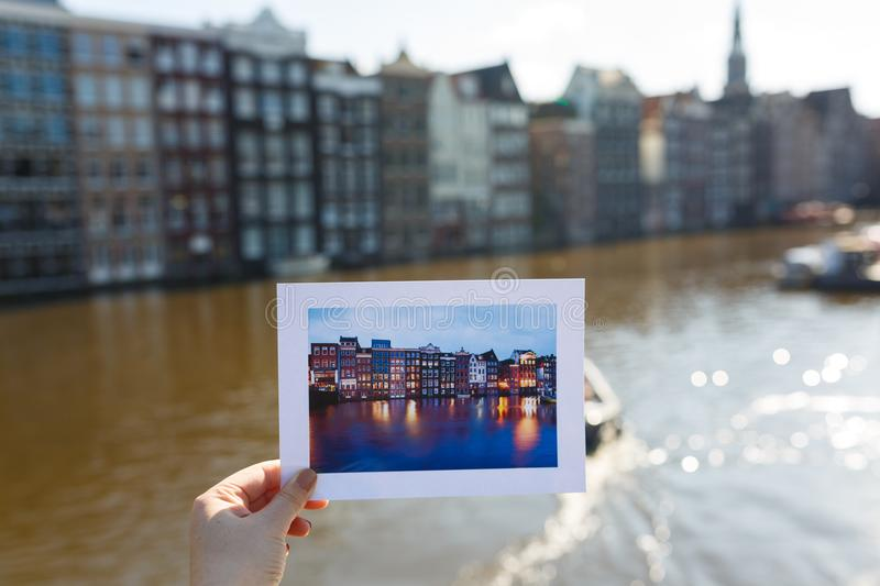 Return to Amsterdam royalty free stock photography