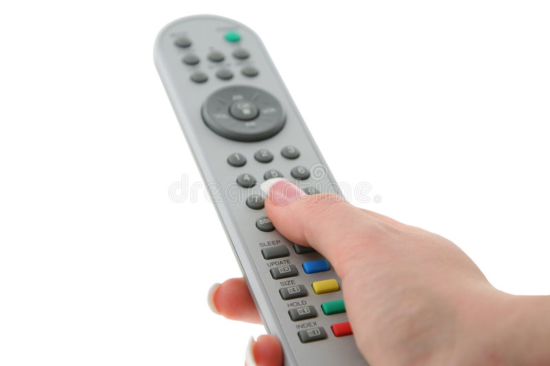 Download Female Hand With Remote Control Stock Image - Image: 933923