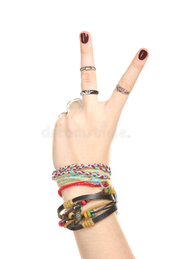 Female hand stock images