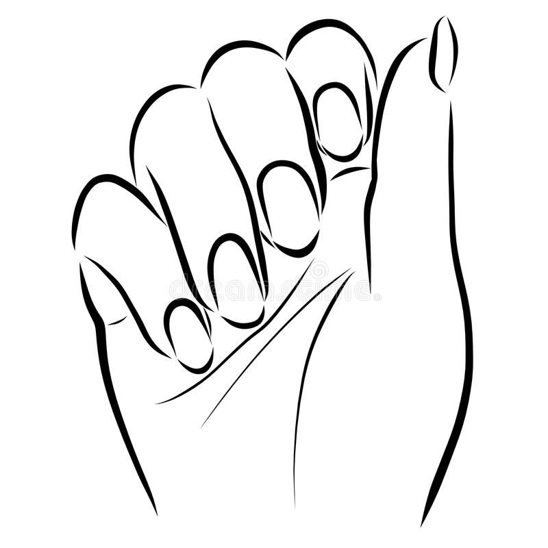 Free Female Hand With Neat Nails Royalty Free Stock Photo - 119418065