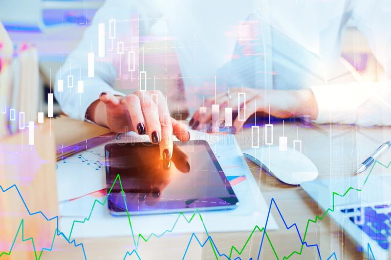 Finance and economy concept royalty free stock images