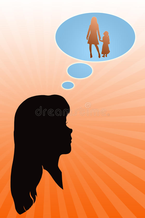 Female happiness stock images