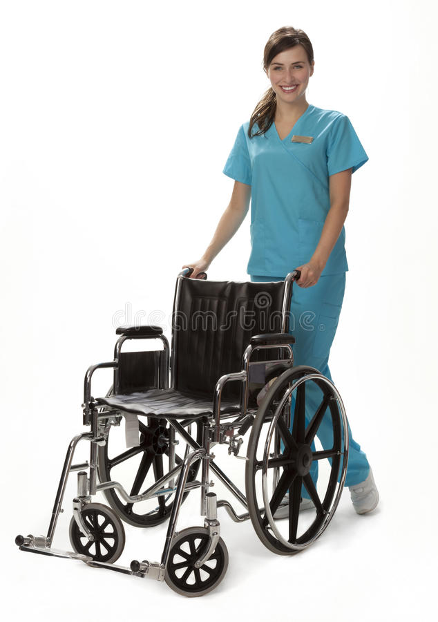 Female Healthcare Worker royalty free stock image