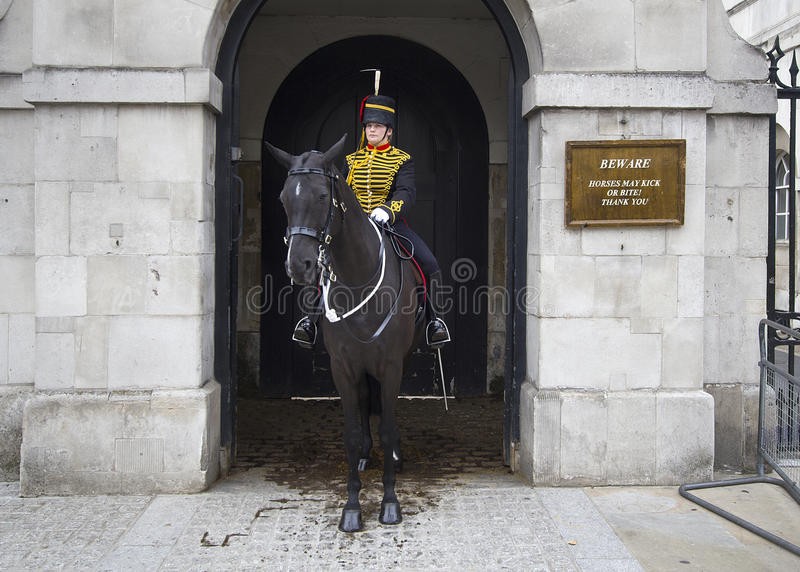 Download Female Horse Guard editorial stock image. Image of english - 22546719