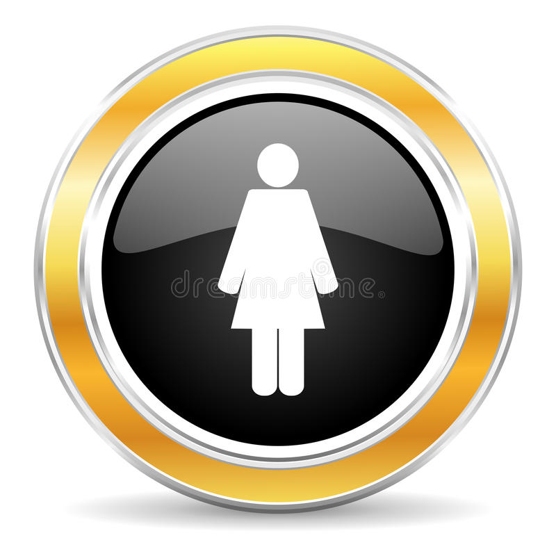 female icon stock images