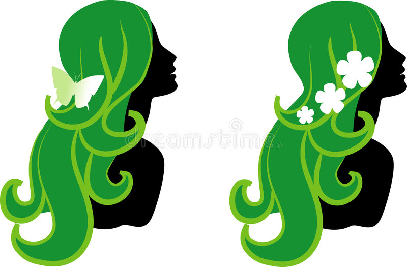 Download Female icons stock vector. Image of cosmetic, dream, curly - 8141531