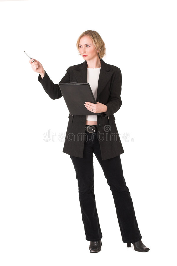 Download Female inspector #3 stock image. Image of manager, fancy - 1002415