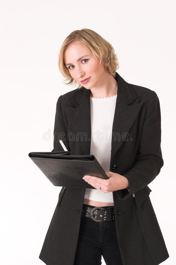 Download Female inspector #7 stock photo. Image of innovative, corporate - 1002332