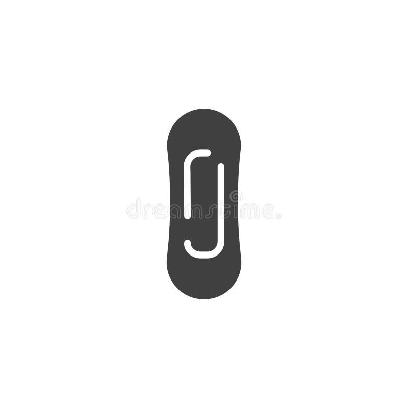 Female intimate hygiene vector icon stock illustration