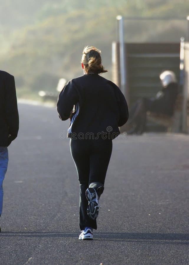 Female Jogger stock photography
