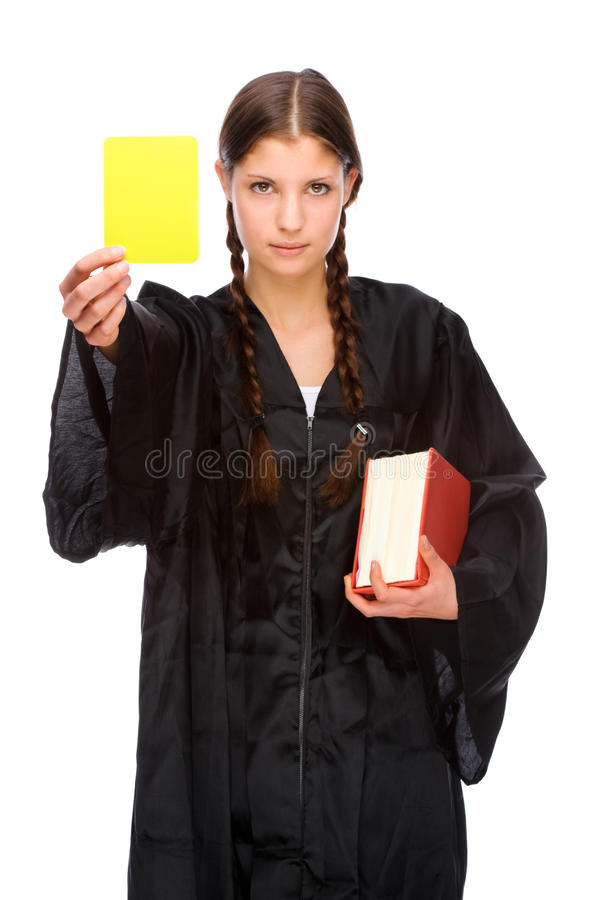 Female lawyer stock images