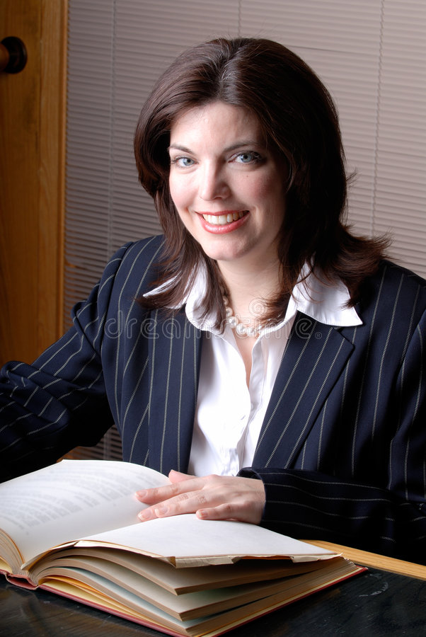 Female Lawyer royalty free stock photography