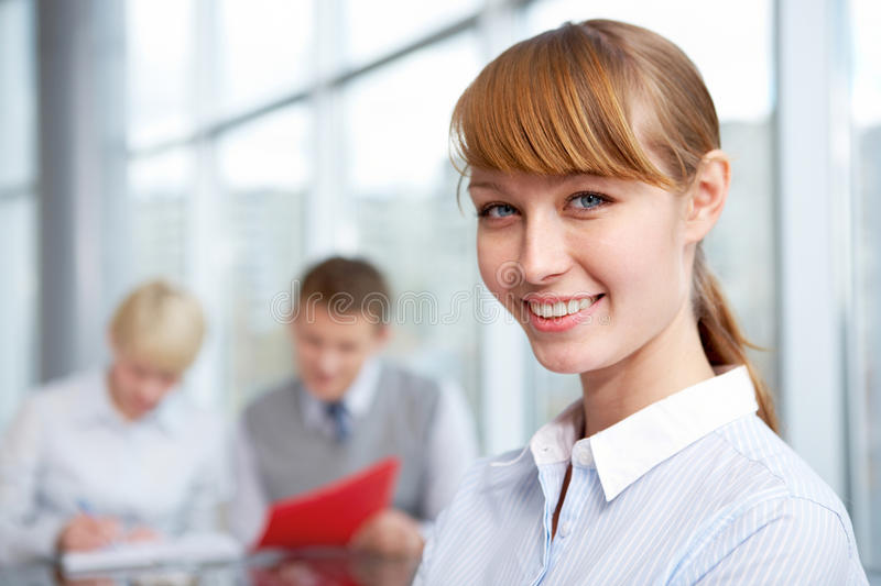Download Female leader stock photo. Image of expertise, beautiful - 20880374