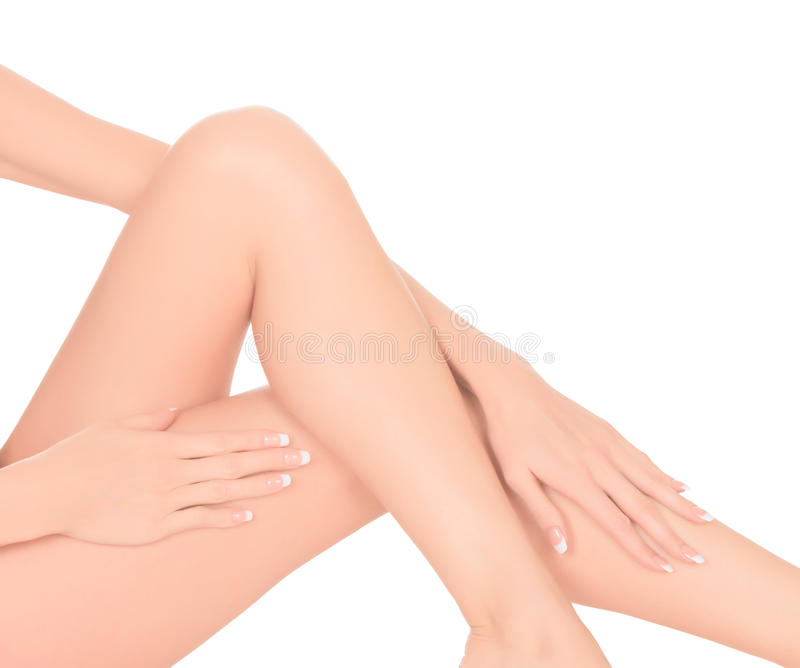 Download Female legs and hands stock photo. Image of shin, naked - 28839672