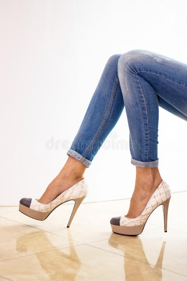 Download Female legs stock image. Image of legs, caucasian, casual - 39355123