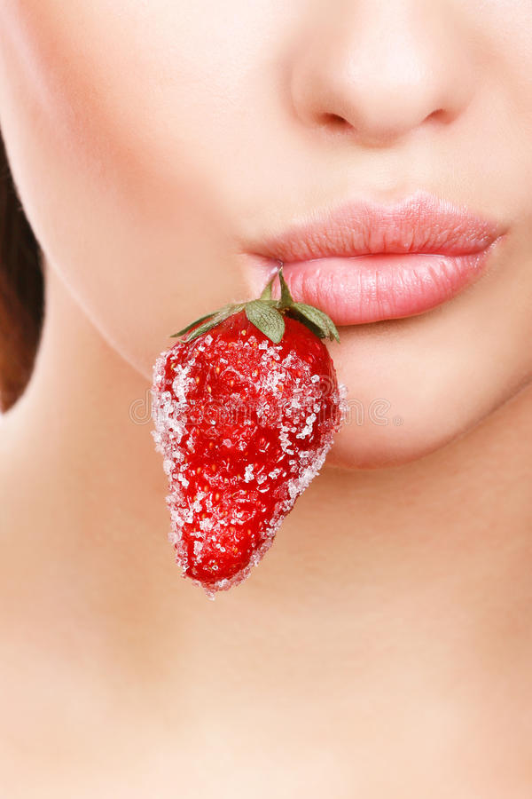 Download Female lips stock image. Image of mouth, part, juicy, beauty - 9505457