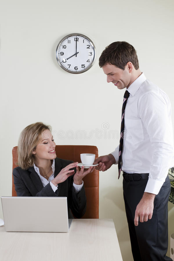 Female Manager Royalty Free Stock Image