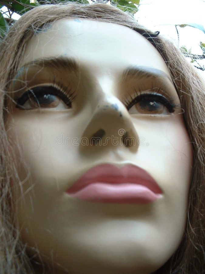 Female mannequin royalty free stock photos