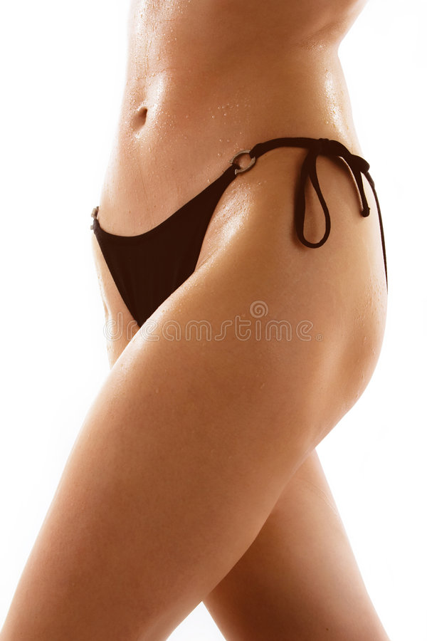 Free Female Midsection With Bikini Royalty Free Stock Photos - 2510528