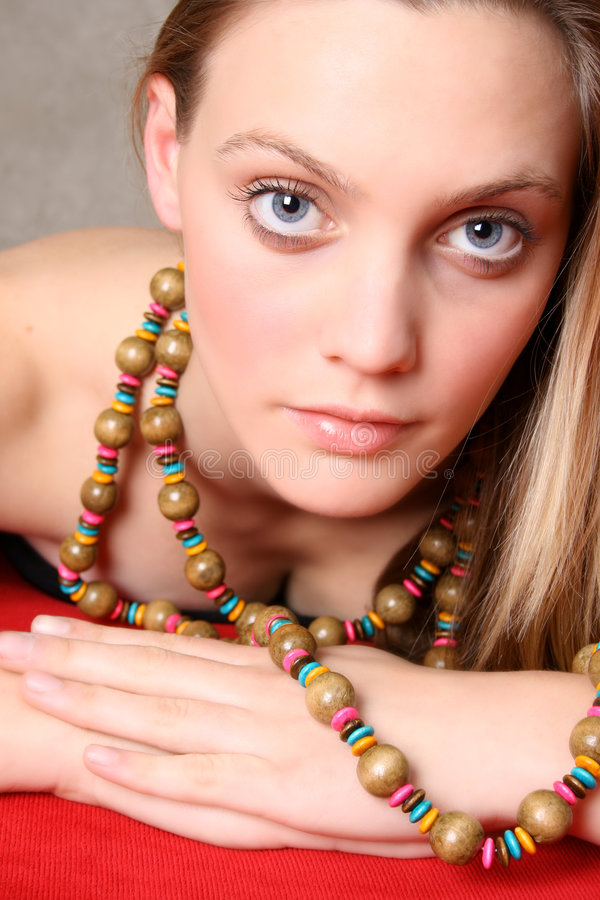 Download Female Model stock photo. Image of portrait, colorful - 6971058