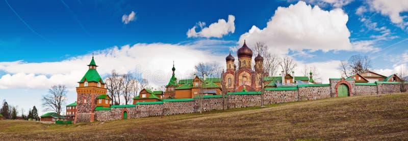 Female monastery in Pjuhtitse. Estonia stock photos