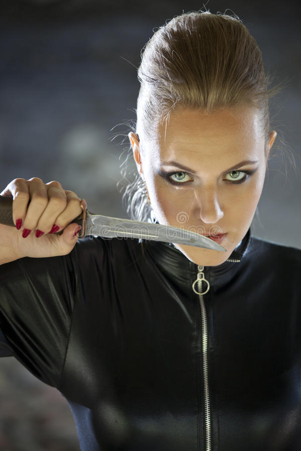 Free Female Murderer Royalty Free Stock Photo - 33386795