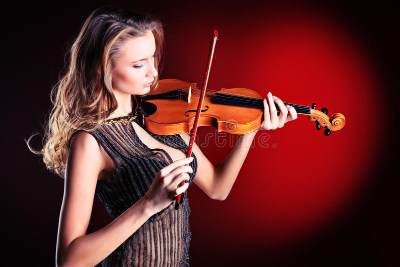 Female Musician Stock Images