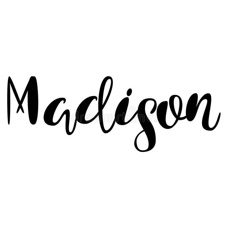 Madison name design
