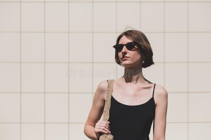 Young confident woman portrait. stock images