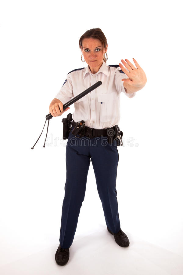 Download Female police officer stock photo. Image of aspirant - 21473416
