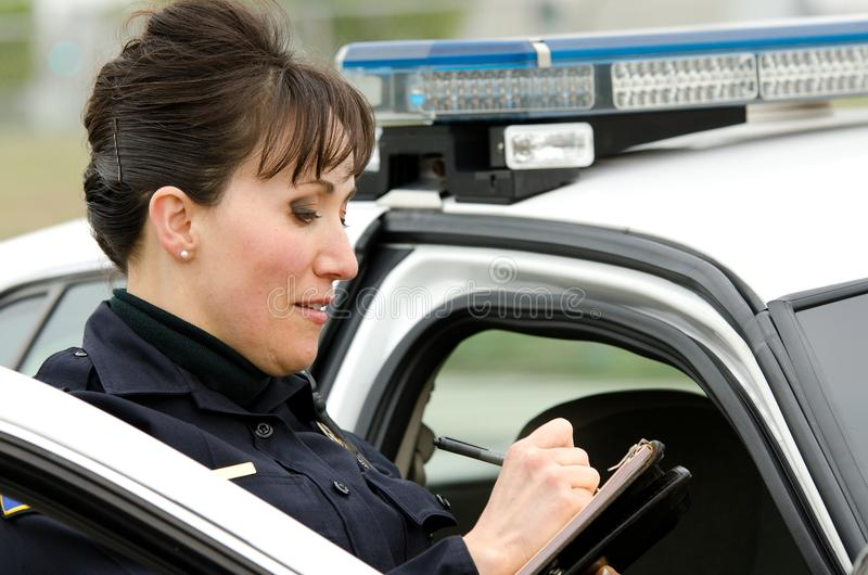 Download Traffic stop stock image. Image of summons, ticket, responder - 29917749