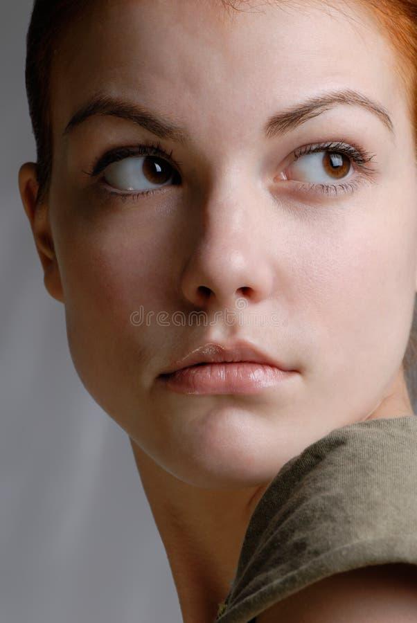 Female portrait stock photos