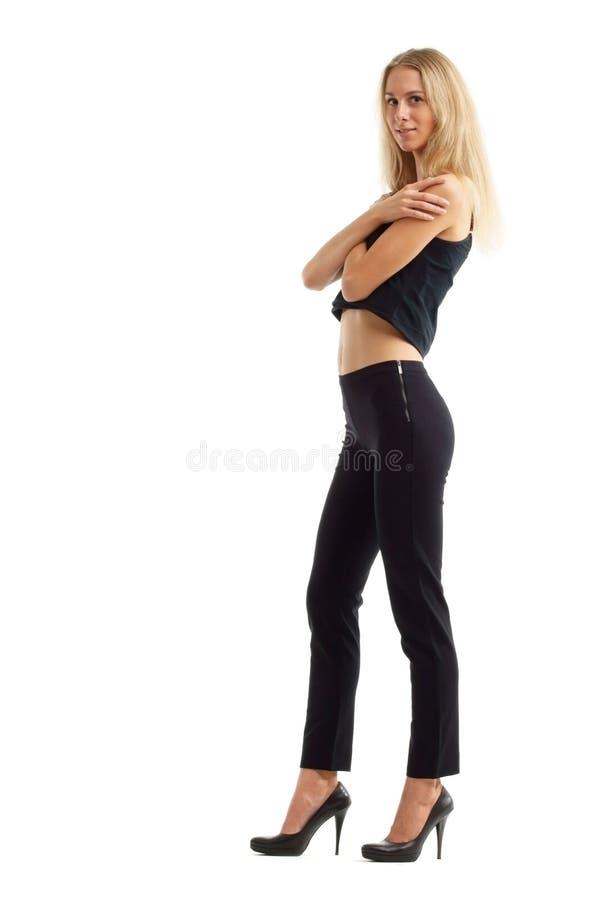 Female posing royalty free stock images