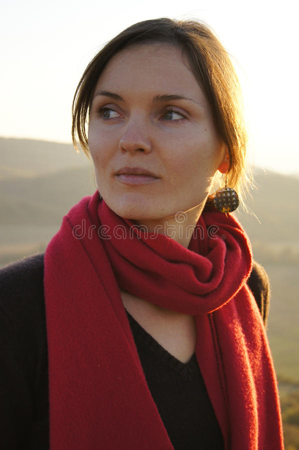 Download Female power stock photo. Image of autumn, birght, lady - 21898990