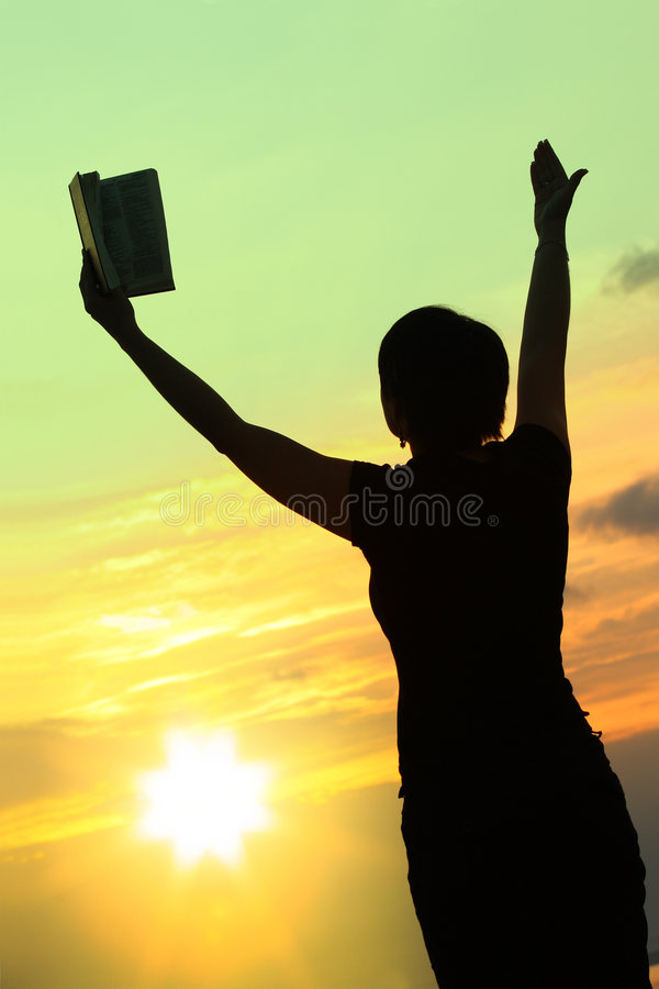 Download Female Praying With Bible #3 Stock Photo - Image: 7057410