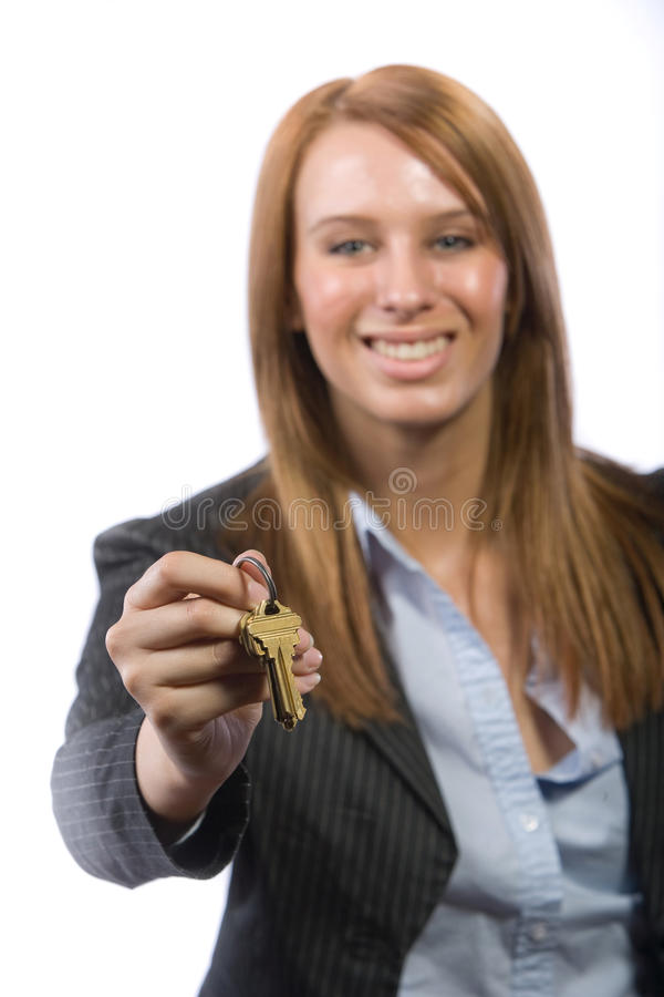 Female Real Estate Agent Stock Photos