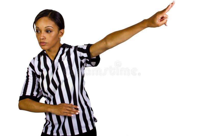 Female Referee Stock Photography