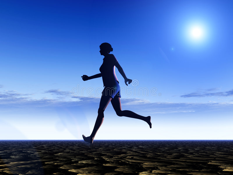 Download Female Runner 15 Stock Photos - Image: 2530163