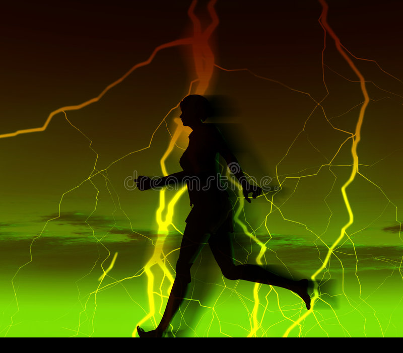 Download Female Runner 29 Royalty Free Stock Photos - Image: 2446588