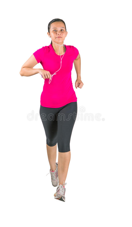 Download Female Running stock image. Image of legs, action, background - 35860255