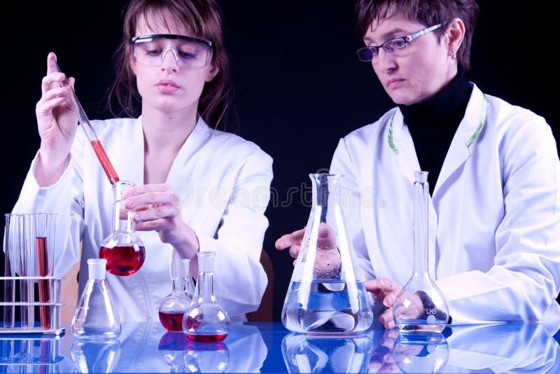Female Scientists stock photo