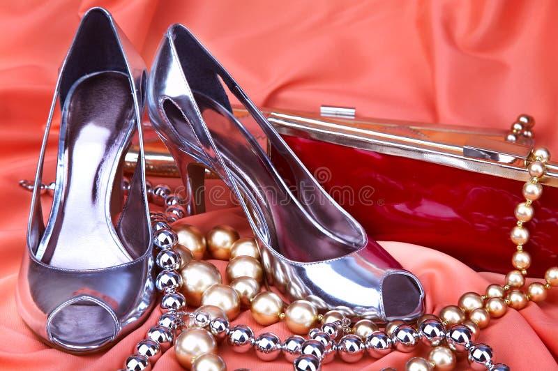 Female shoes royalty free stock photo