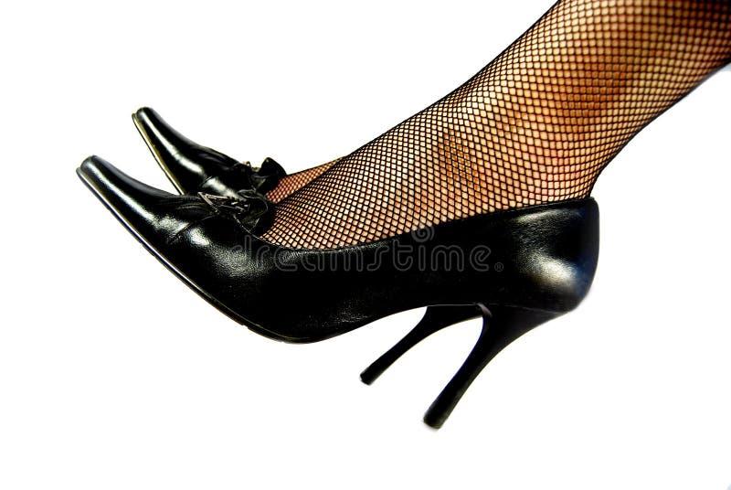 Female shoes closeup royalty free stock photos