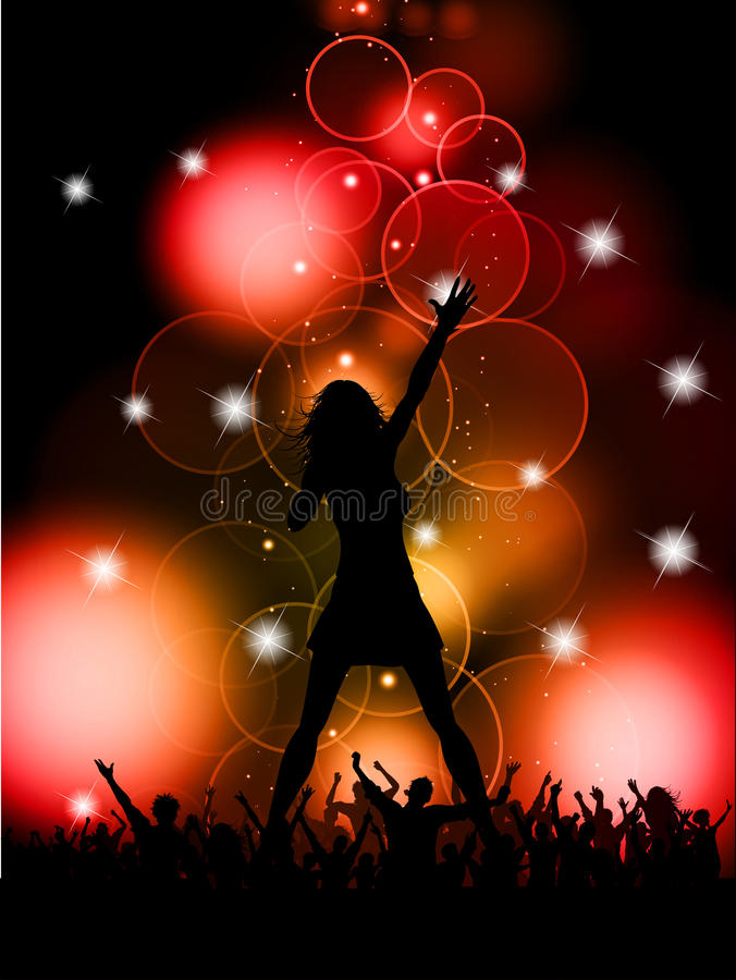 Download Female singer performing stock vector. Image of eps10 - 20911005